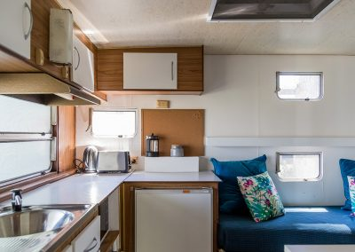 Surfside Caravan 2 internal kitchen (1)
