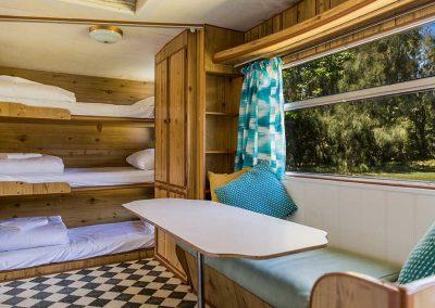 Surfside Caravan 4 triple bunks